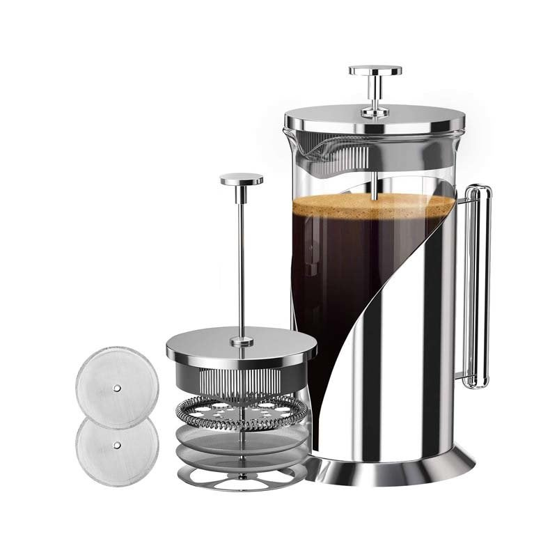 The Best French Press Option: Café Du Chateau French Press Coffee Maker