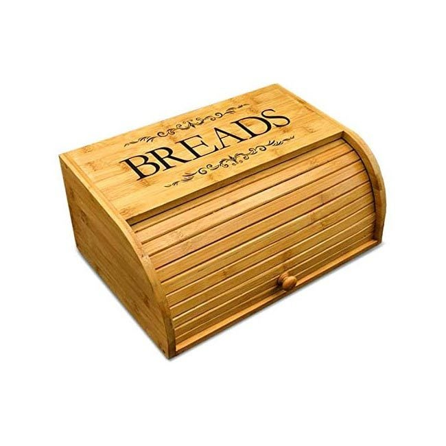 The Best Bread Box Option: Cookbook People Original Rolltop Bread Box