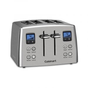 The Best Toaster Option: Cuisinart Countdown 4-Slice Toaster