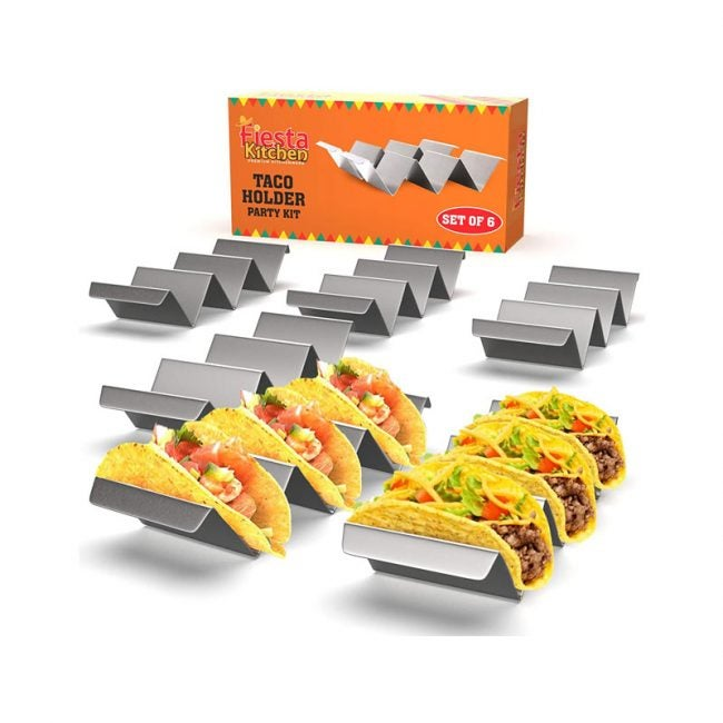 The Best Taco Holder Option: Fiesta Kitchen Taco Holder Set