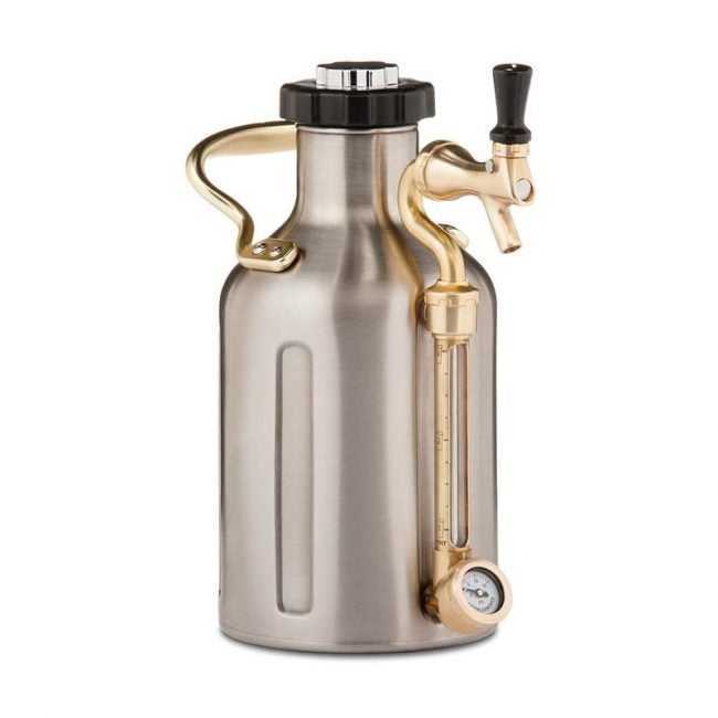 The Best Growler Option: GrowlerWerks uKeg Carbonated Growler