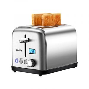 The Best Toaster Option: Holife Stainless Steel Toaster