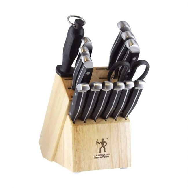 The Best Kitchen Knife Set Option: J.A. Henckels International Kitchen Knife Set