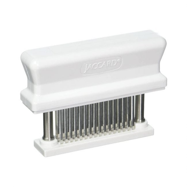 The Best Meat Tenderizer Option: Jaccard 200348 48-Blade Meat Tenderizer