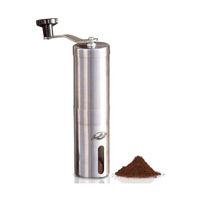 The Best Coffee Grinder Option: JavaPresse Manual Coffee Grinder