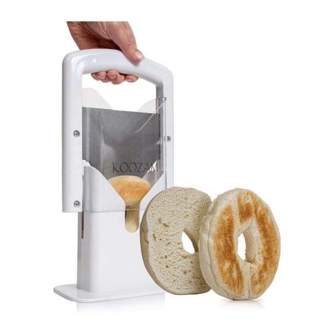 The Best Bagel Slicer Option: Koozam Bagel Slicer