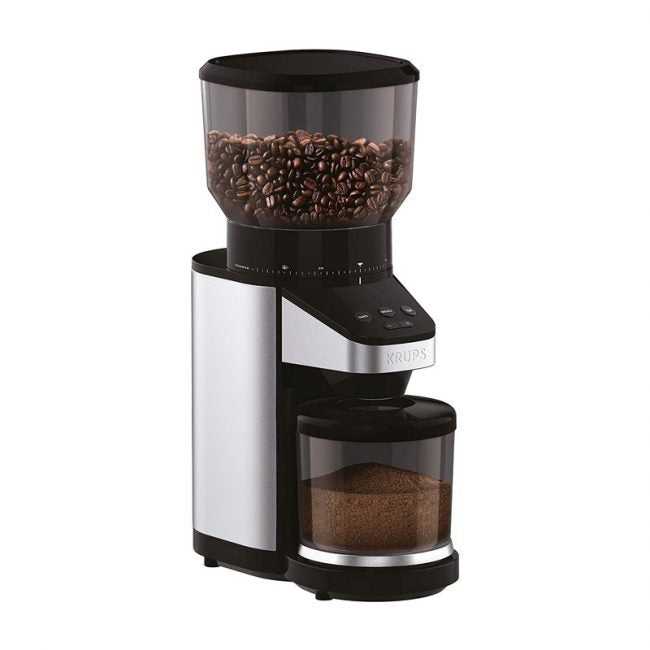 The Best Coffee Grinder Option: Krups GX420851 Coffee Grinder