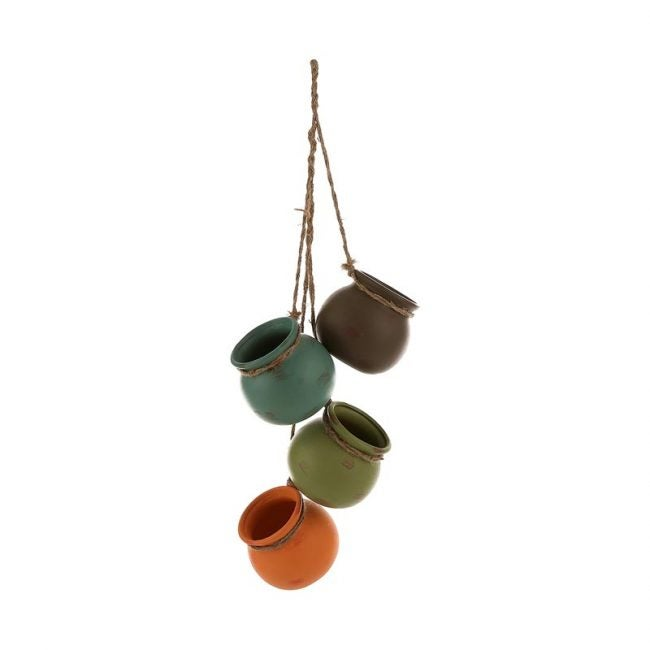 The Best Hanging Planter Option: MyGift Dangling Southwest Hanging Planters