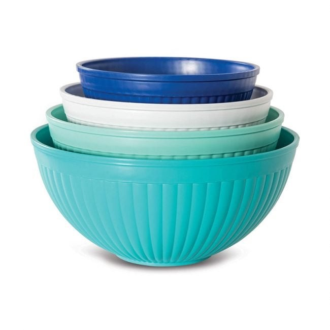 The Best Mixing Bowl Option: Nordic Ware Prep & Serve Mixing Bowl Set 4-Pc