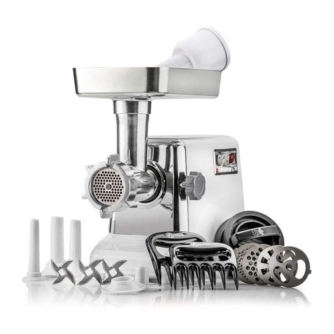The Best Meat Grinder Option: STX International Turboforce Electric Meat Grinder