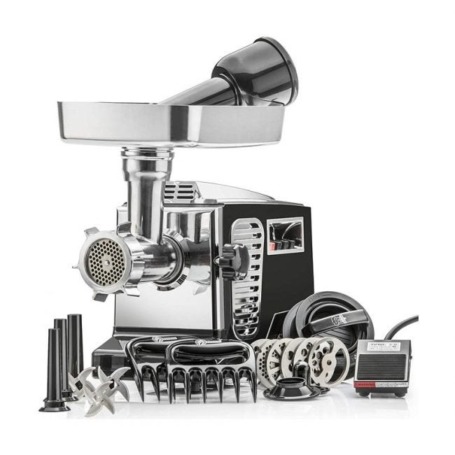The Best Meat Grinder Option: STX International Turboforce II Meat Grinder