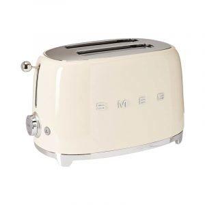 The Best Toaster Option: Smeg Retro Style Aesthetic 2-Slice Toaster