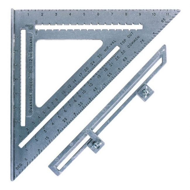 The Best Speed Square Option: Swanson Tool S0107 12-Inch Speed Square