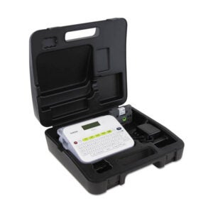 The Best Label Maker Option: Brother P-touch PTD400VP Versatile Label Maker