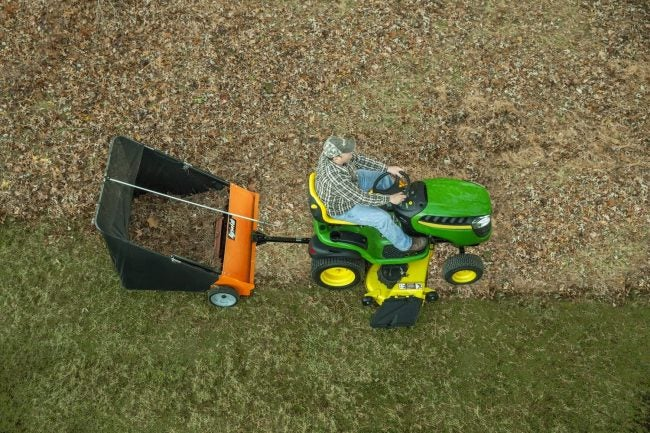 The Best Lawn Sweeper Option