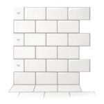 The Best Peel and Stick Backsplash Option: Art3d 10-Sheet Peel and Stick Backsplash