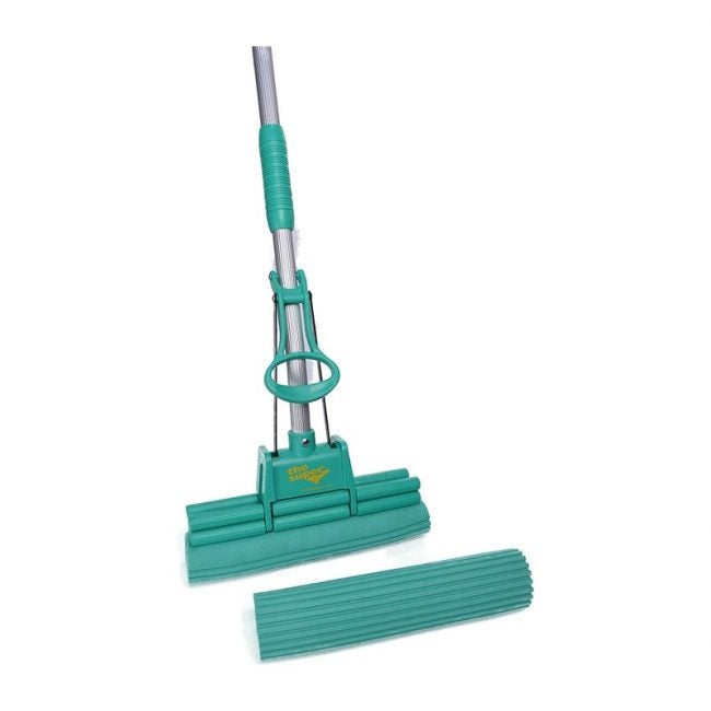 The Best Sponge Mop Option: The Super Standard Double Roller PVA Sponge Mop