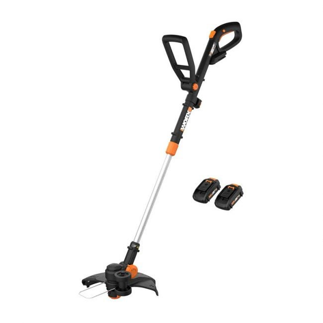 The Best Cordless Trimmer Option: WORX WG170 GT Revolution 20V String Trimmer