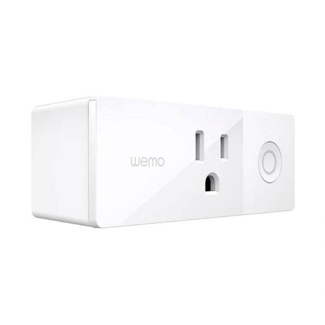 The Best Smart Plug Option: WeMo Mini Smart Plug