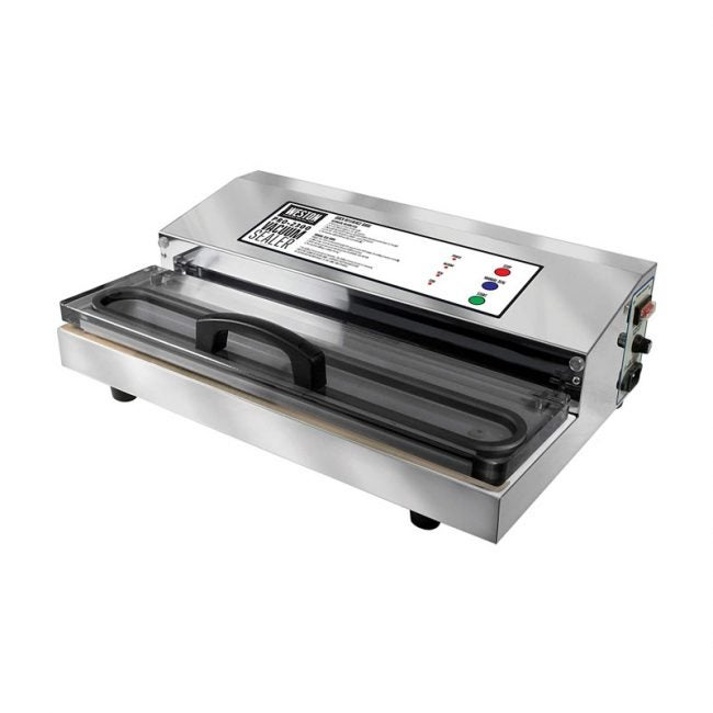 The Best Vacuum Sealer Option: Weston Pro-2300 Stainless Steel Vacuum Sealer