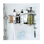 Best Shower Caddies Options: kincmax shower caddy basket shelf