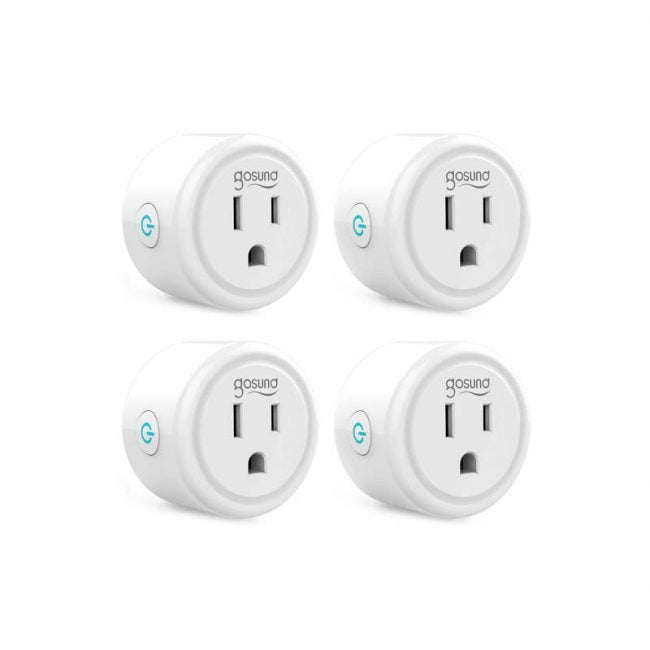 The Best Smart Plug Option: gosund Smart Plug, Mini WiFi Outlet 4-Pack