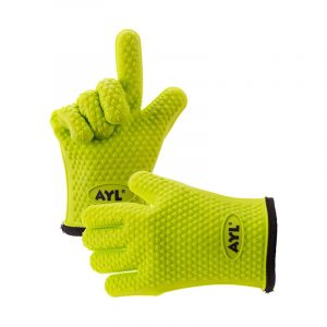 The Best BBQ Glove Option: AYL Silicone Cooking Gloves