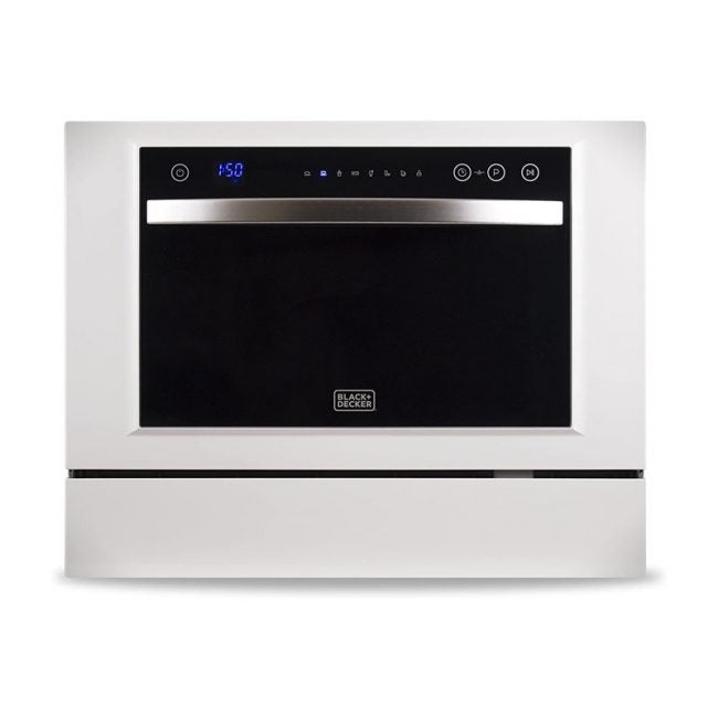 The Best Dishwasher option: BLACK+DECKER BCD6W Compact Countertop Dishwasher