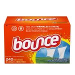 Best Fabric Softener Options: Bounce Fabric Softener and Dryer Sheets