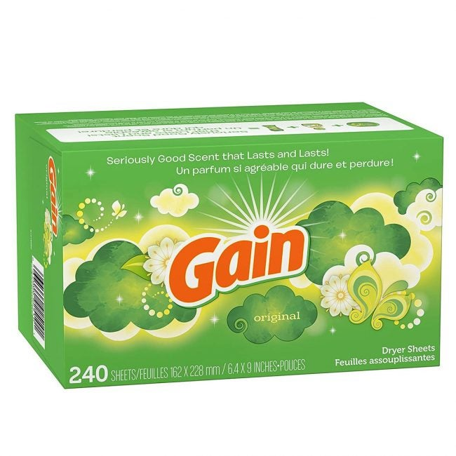 Best Fabric Softener Options: Gain Dryer Sheets