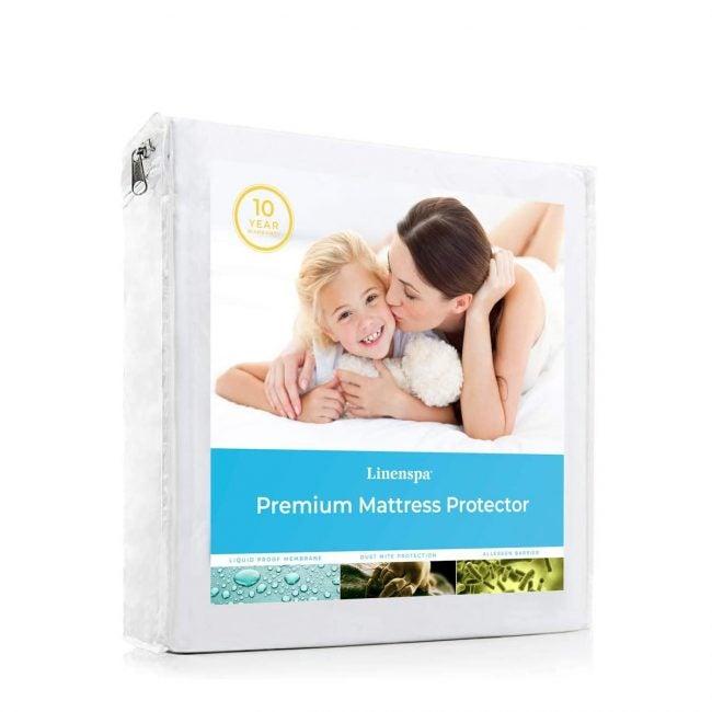Best Mattress Protectors LINENSPA Premium Smooth Fabric