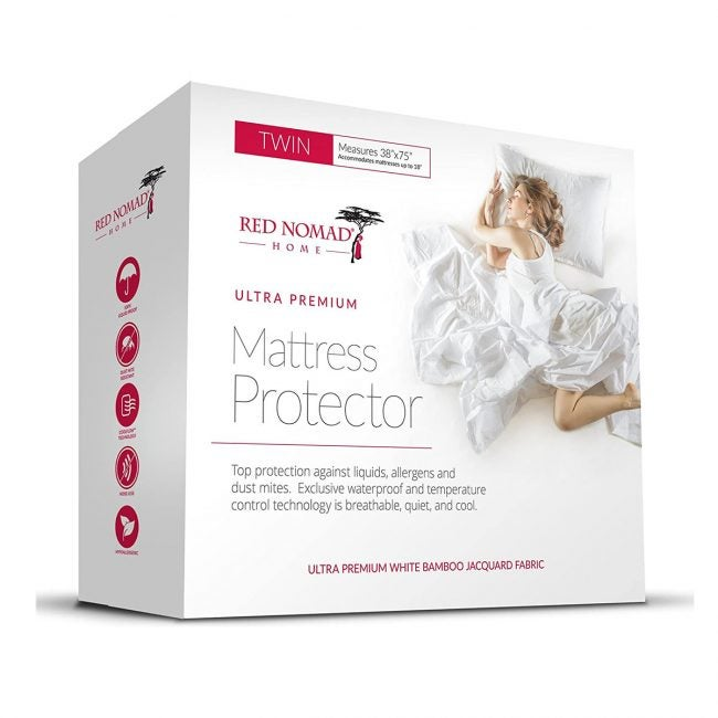 Best Mattress Protectors Options: Red Nomad Waterproof Mattress Protector