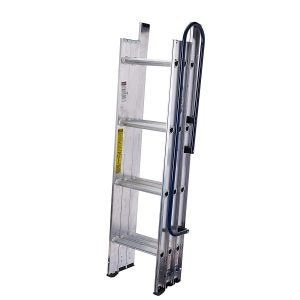 Best Attic Ladder Options: WERNER LADDER AA1510CA Al Attic Ladder