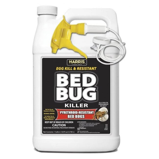 The Best Bed Bug Spray Option: HARRIS Bed Bug Killer, Toughest Liquid Spray