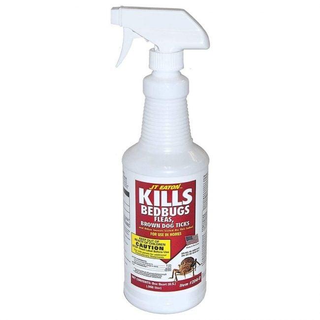 The Best Bed Bug Spray Option: JT Eaton 204-0/CAP Kills Bedbugs Oil-based Spray
