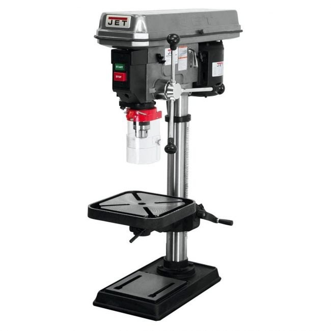 The Best Benchtop Drill Press Option: JET J-2530 15-Inch Drill Press
