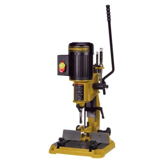 The Best Benchtop Drill Press Option: Powermatic 3/4 Horsepower Benchtop Mortiser