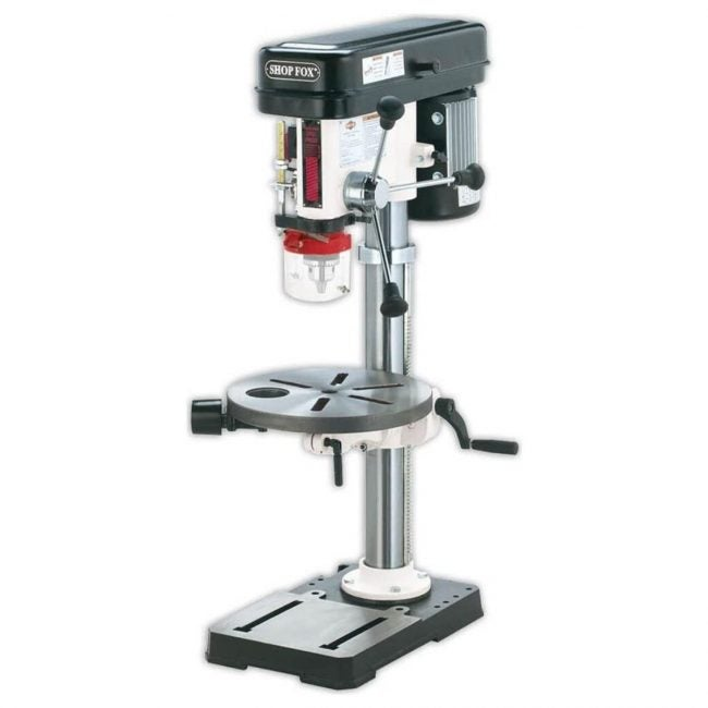 The Best Benchtop Drill Press Option: Shop Fox 13-Inch Bench-Top Drill Press/Spindle Sander
