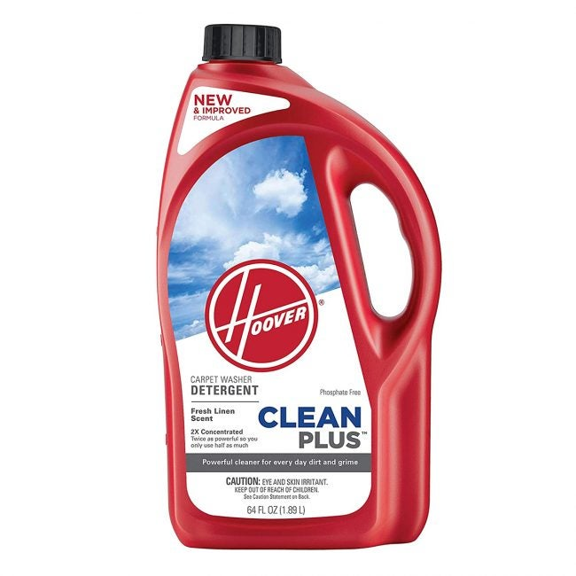 Best Carpet Deodorizers Options: Hoover CleanPlus Concentrated Solution Formula Carpet Cleaner