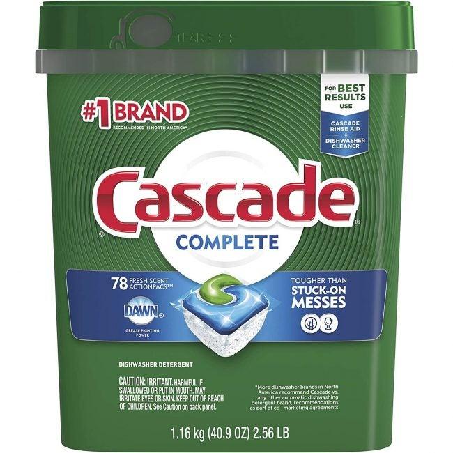 Best Dishwasher Detergent Cascade