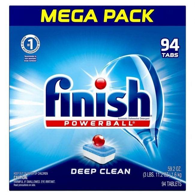 Best Dishwasher Detergent Finish