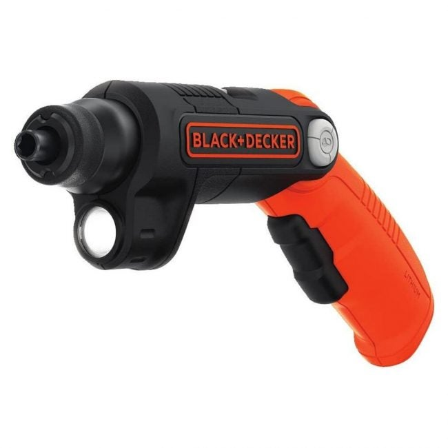 The Best Electric Screwdriver Option: Black+DECKER 4V MAX Electric Screwdriver
