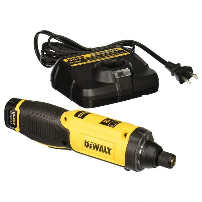 The Best Electric Screwdriver Option: DEWALT 8V MAX Electric Screwdriver