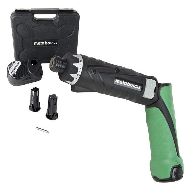 The Best Electric Screwdriver Option: Metabo HPT Cordless Screwdriver Kit