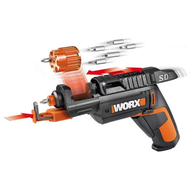 The Best Electric Screwdriver Option: WORX WX255L SD Semi-Automatic Power Screw Driver