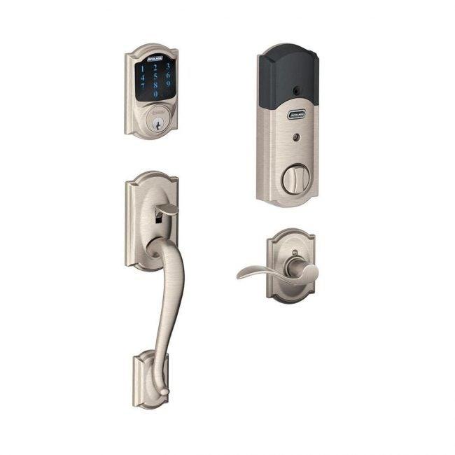 Best Electronic Door Locks Options: Schlage Connect Camelot Touchscreen Deadbolt
