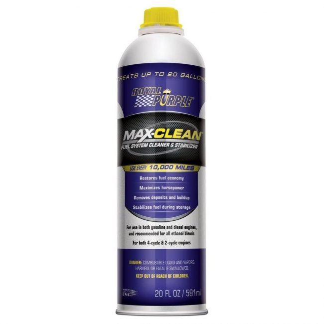 The Best Fuel Stabilizer Option: Royal Purple Max-Clean Fuel Cleaner and Stabilizer