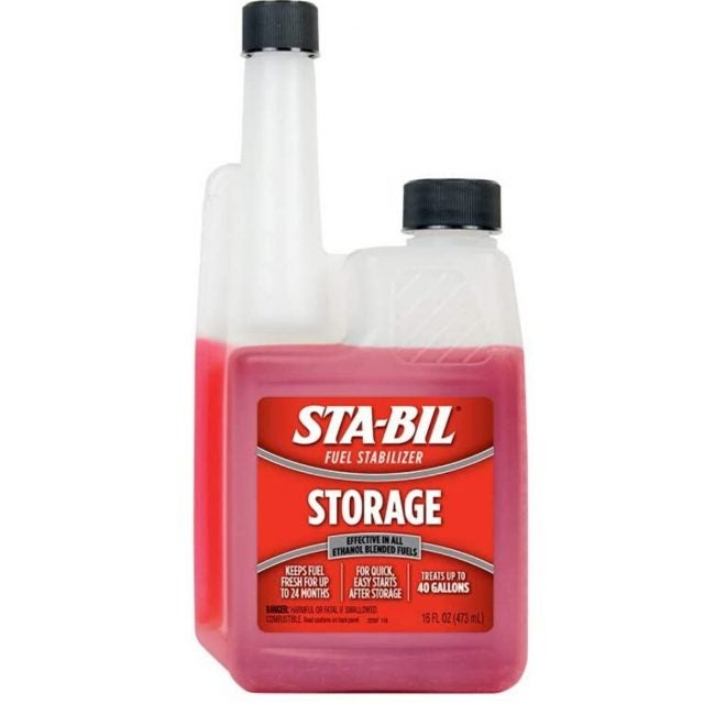 The Best Fuel Stabilizer Option: STA-BIL 22207 Fuel Stabilizer - 16 oz.