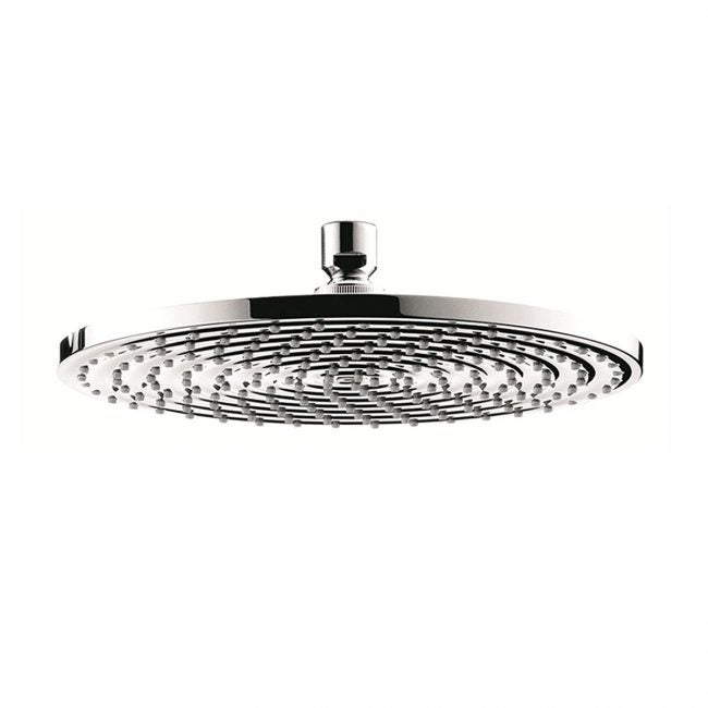 Best High Pressure Options: hansgrohe Raindance S 9-inch Showerhead Easy Install Modern