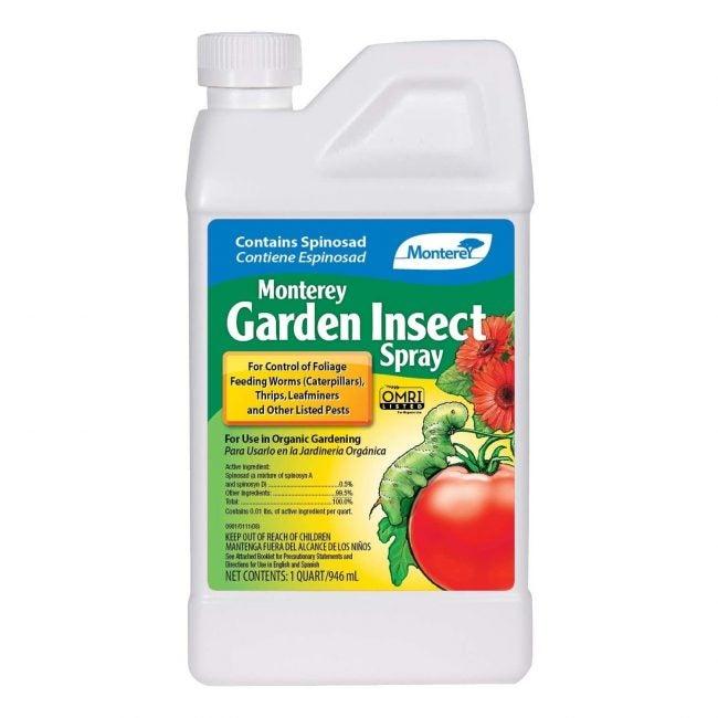 Meilleur insecticide pour les jardins potagers Monterey
